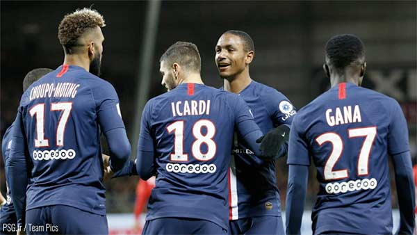 Stade Brestois 29 - Paris Saint-Germain ( 1-2 )