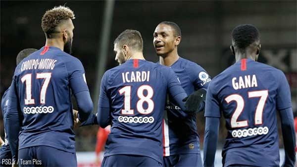 Stade Brestois 29 - Paris Saint-Germain ( 1-2 )