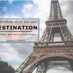 Voyager à Paris